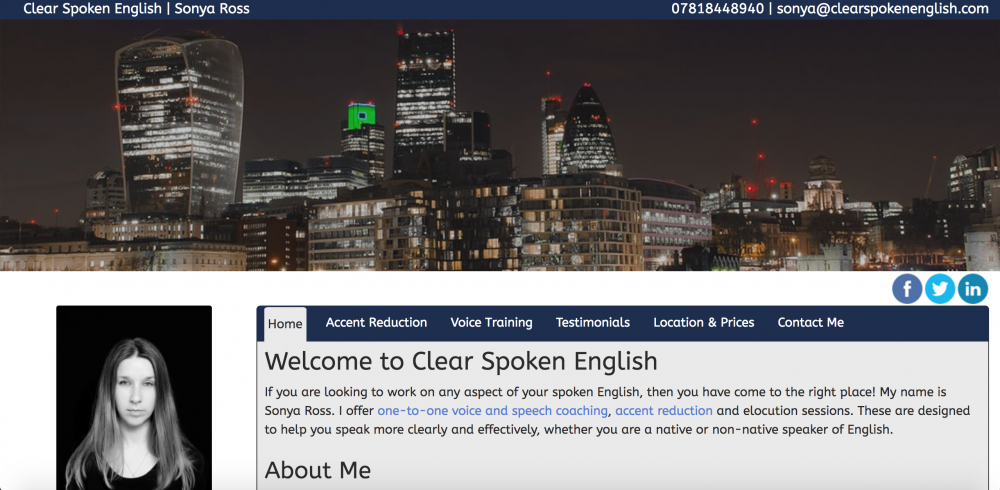 Clear Spoken English