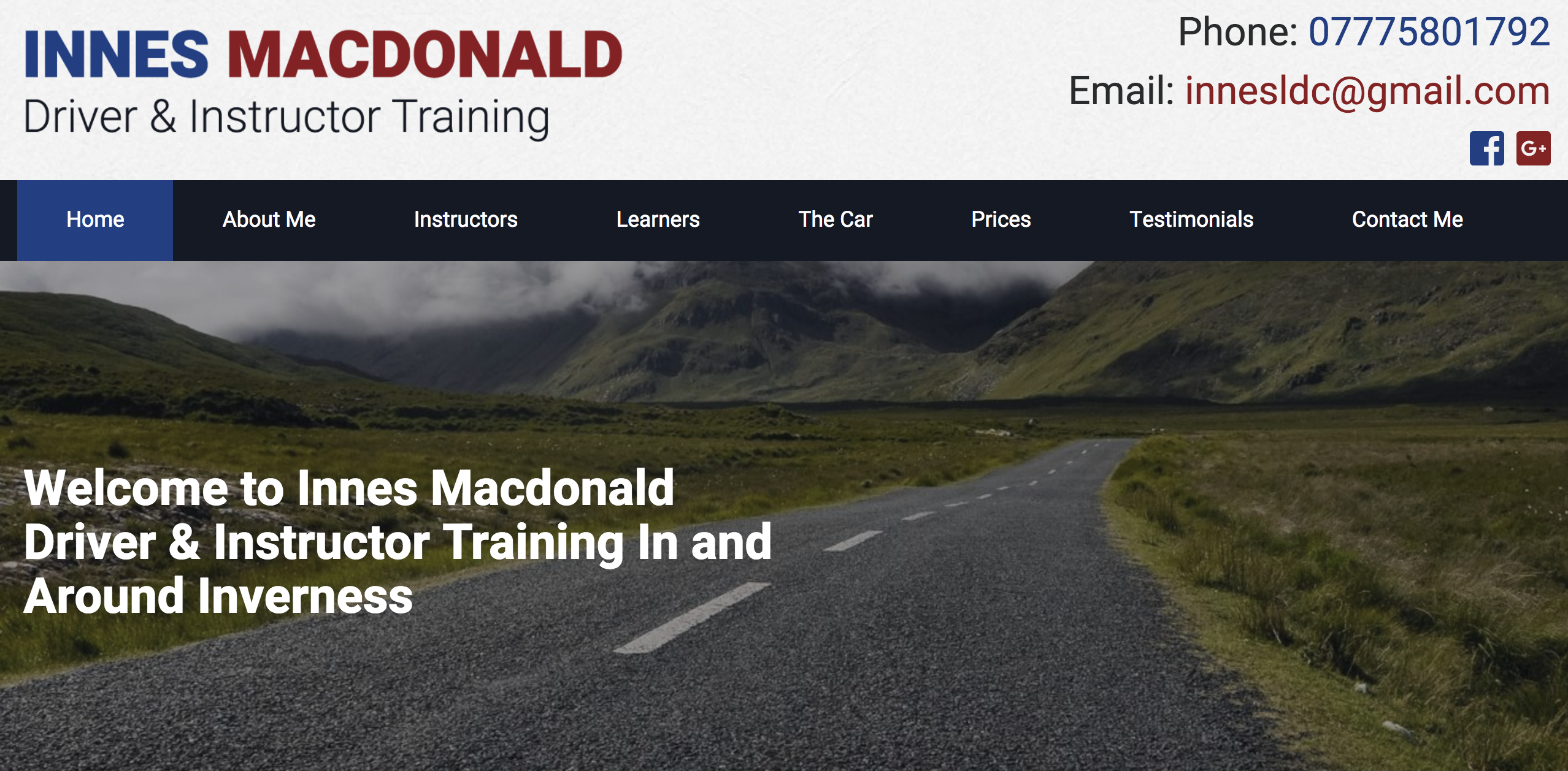 Innes Macdonald Driver & Instructor Training